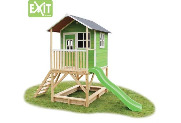 EXIT Loft 500 Holzspielhaus - grün