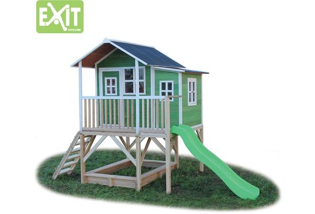 EXIT Loft 550 Holzspielhaus - grün