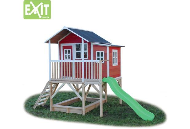 EXIT Loft 550 Holzspielhaus - rot