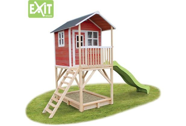 EXIT Loft 700 Holzspielhaus - rot