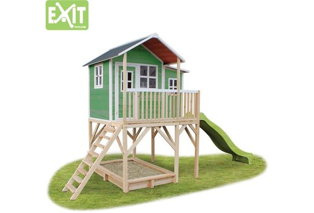 EXIT Loft 750 Holzspielhaus - grün