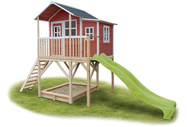 EXIT Loft 750 Holzspielhaus - rot