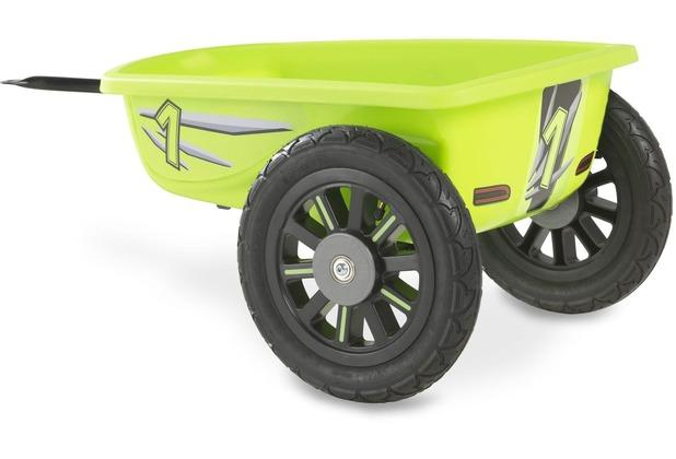 EXIT Spider Grün und Cheetah Gokart Anhänger - grün