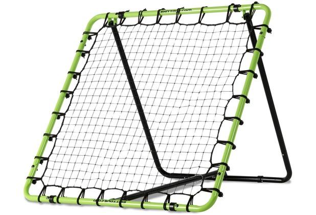 EXIT Tempo Multisport Rebounder - grün/schwarz 120x120cm