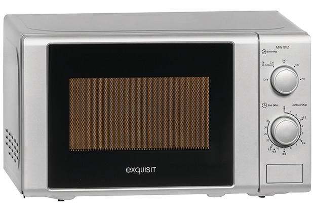 exquisit Mikrowelle MW 802 SI