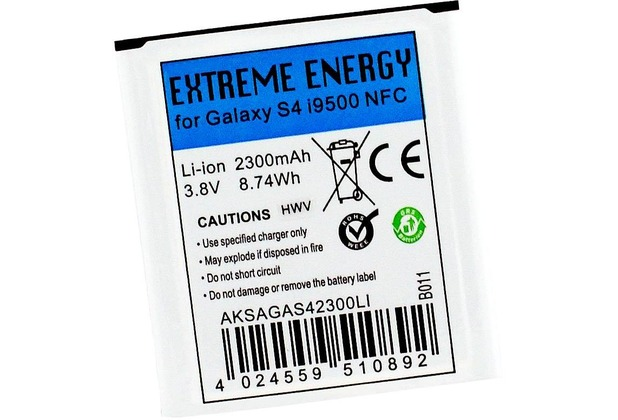 Extreme Energy Li-Ion 2300mAh NFC für Samsung Galaxy S4 I9500 S4 Active I9295