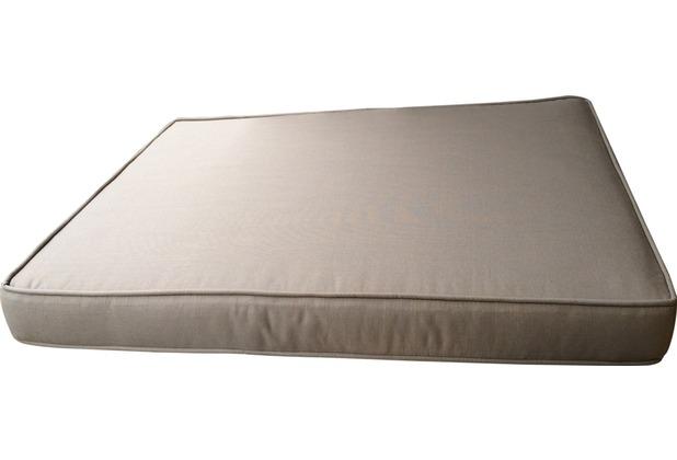 Famous Home Sitzkissen 91 x 68 x 10 cm zu 3er  Lounge Sofa Polster Auflage Sand Lanzarote Sand RAL 1019