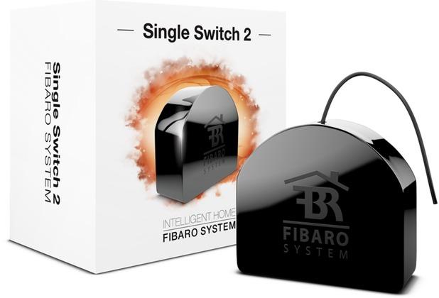 Fibaro Relais Unterputzeinsatz - 1 Schalter 2,5kW - Z-Wave