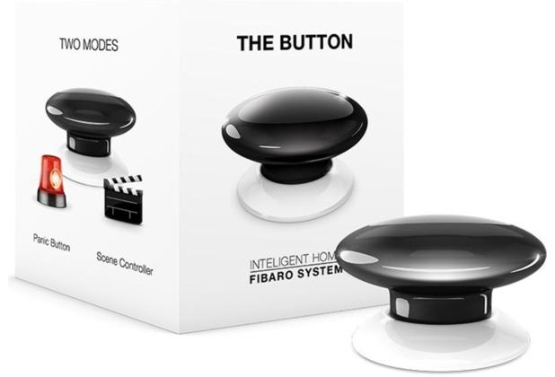 Fibaro The Button - Z-Wave - schwarz