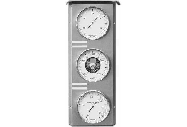 Fischer Messtechnik Außenwetterstation, Edelstahl, 21,5x51