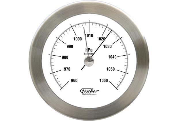 Fischer Messtechnik Barometer, Edelstahl matt 103 mm