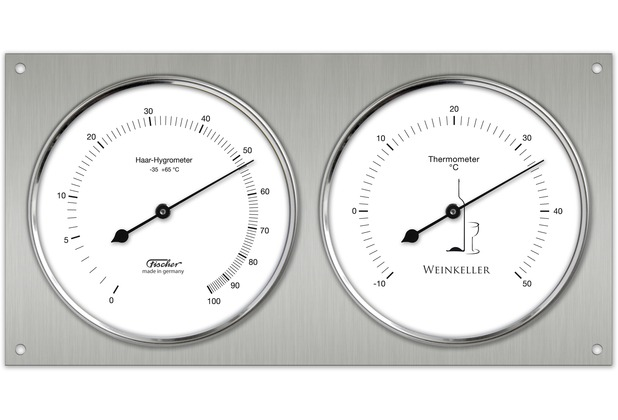 Fischer Messtechnik Weinkeller-Hygrothermometer