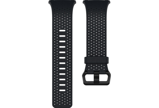 FitBit Ionic, Accessory Band, Leather, Midnight Blue, Small