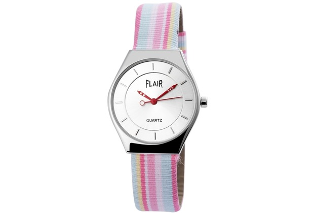 Flair Damenuhr mit Lederimitationarmband 100322800041