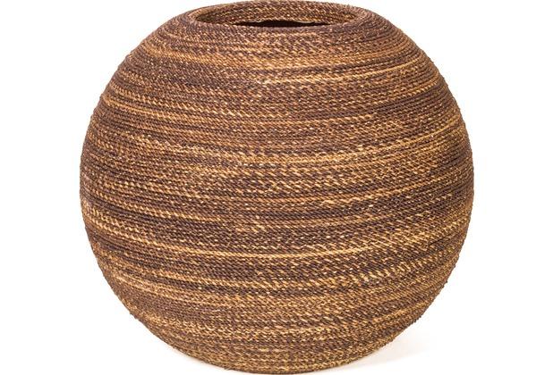 fleur ami BEACH Pflanzgefäß, 60/60 cm, natural weave