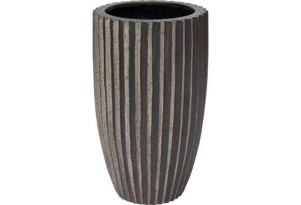fleur ami Blumentopf innen Sahara, 45/75 cm, black stripes