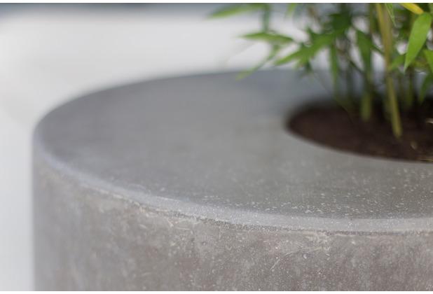 fleur ami DIVISION Pflanzobjekt natur-beton H 35 cm Ø 70 cm