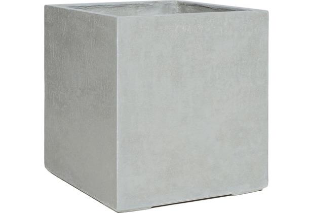 fleur ami DIVISION PLUS Pflanzgefäß, 80x80/84 cm, natur-beton