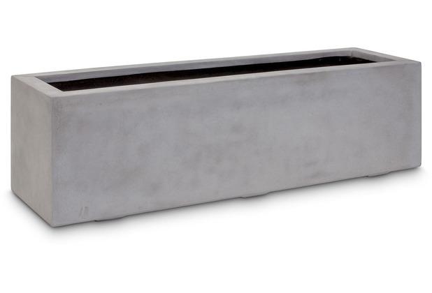 fleur ami DIVISION PLUS Rechteck, 140x40/40 cm, natur-beton