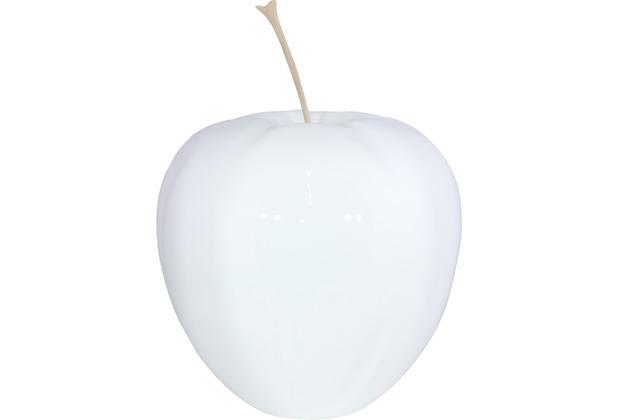 fleur ami Figur Apfel, 38/47 cm, weiß