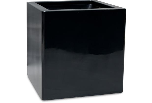 fleur ami PREMIUM CUBUS Pflanzgefäß, 50x50/50 cm, schwarz