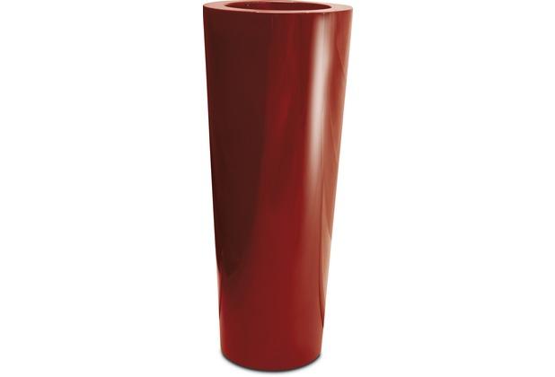 fleur ami PREMIUM KONUS Pflanzgefäß, 48/121 cm, rubinrot