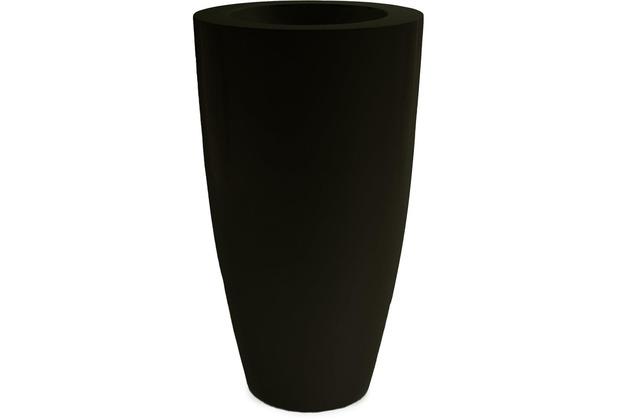 fleur ami PREMIUM LUNA Pflanzgefäß, 51/90 cm, schwarz