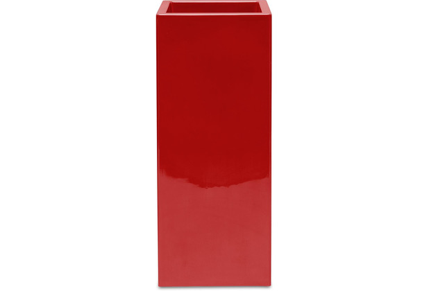 fleur ami PREMIUM TOWER Pflanzsäule, 40x40/90 cm, rubinrot