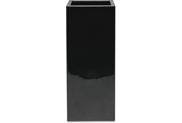 fleur ami PREMIUM TOWER Pflanzsäule, 40x40/90 cm, schwarz