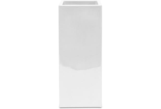 fleur ami PREMIUM TOWER Pflanzsäule, 40x40/90 cm, weiß