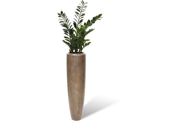 fleur ami SETS BUSINESS, LOFT , 32/120 cm, verdigris bronze, ZAMIOCULCAS 110 cm