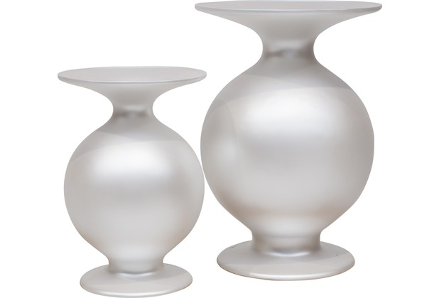 fleur ami SHAPE Vase, 37/53 cm, perlmutt