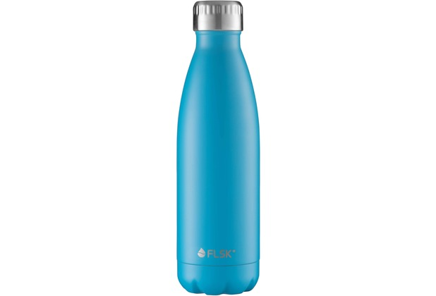 FLSK Isolierflasche 500ml Carribean blau
