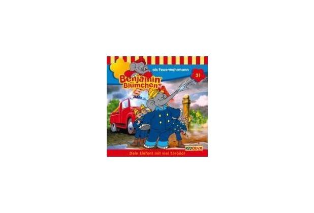 Benjamin Blümchen 031. als Feuerwehrmann. CD Hörspiel