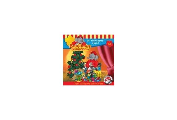 Benjamin Blümchen 051. Der Weihnachtsabend. CD Hörspiel