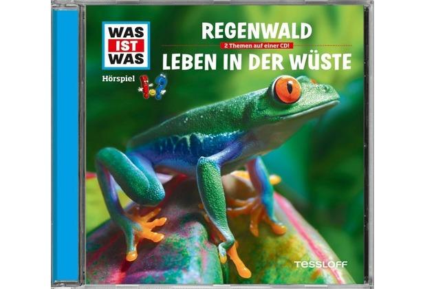 Was ist was Hörspiel-CD: Der Regenwald/ Wüsten Hörspiel