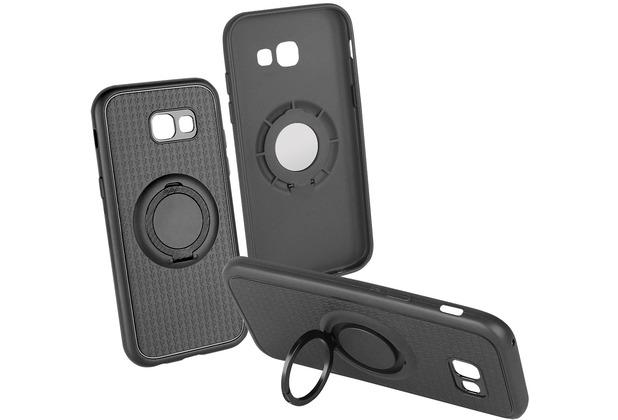 Fontastic Backcover Carry 4 in 1 schwarz komp. mit Samsung Galaxy A5 (2017)