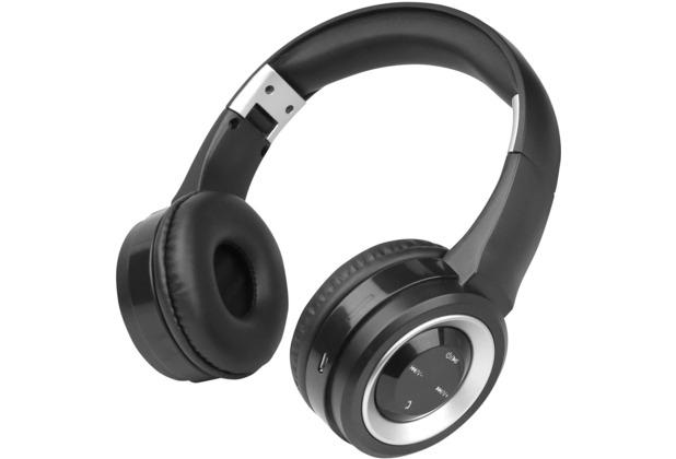 Fontastic Bluetooth On-Ear Headphone BOOM, schwarz/ silber
