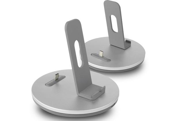 Fontastic Dockingstation - USB auf Micro USB - mit justierbarem Stecker