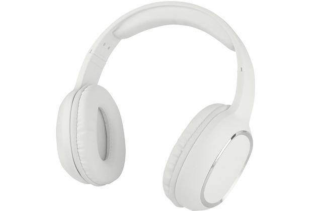 Fontastic Essential Essential Drahtloses On-Ear Headphone SPLEND weiß BT High Quality Speaker, One-Button Control