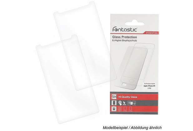 Fontastic Essential Schutzglas 2 Stück komp. mit Apple iPhone XR