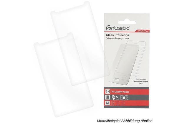 Fontastic Essential Schutzglas 2 Stück komp. mit Apple iPhone 11 Pro Max / XS Max