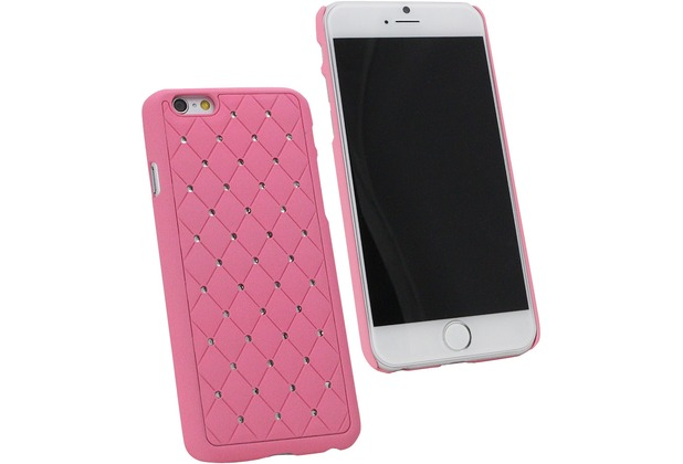 Fontastic Hardcover Diamond pink für Apple iPhone 6/6s