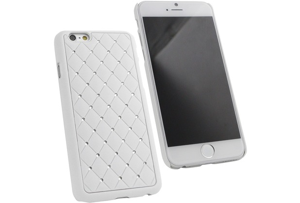 Fontastic Hardcover Diamond weiß für Apple iPhone 6/6s