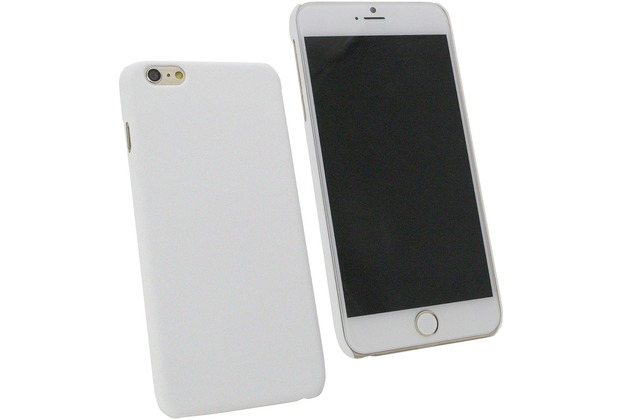 Fontastic Hardcover Pure weiß für Apple iPhone 6+/6s+