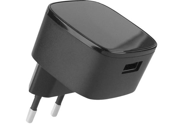 Fontastic Netzteil Quick 2, USB 15W schwarz Fast Charge 2