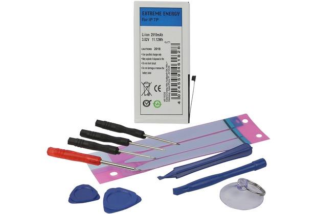 Fontastic Prime Extreme Energy Akku Austausch-Set, Akku + Werkzeug komp. Apple iPhone 7P - 2910mAh