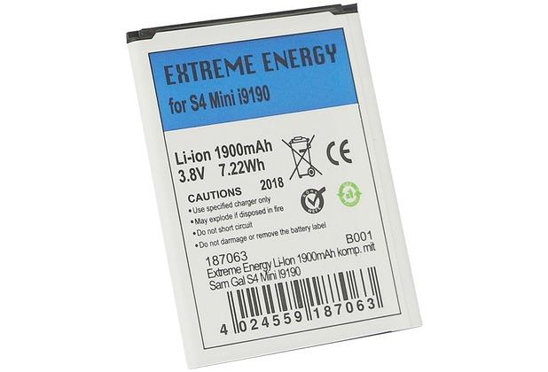 Fontastic Prime Extreme Energy Li-Ion 1900mAh komp. mit Sam Gal S4 Mini I9190