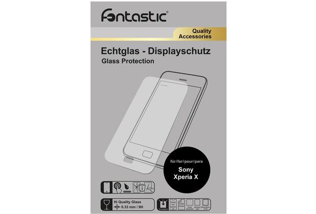 Fontastic Schutzglas 1 Stück für Sony Xperia X