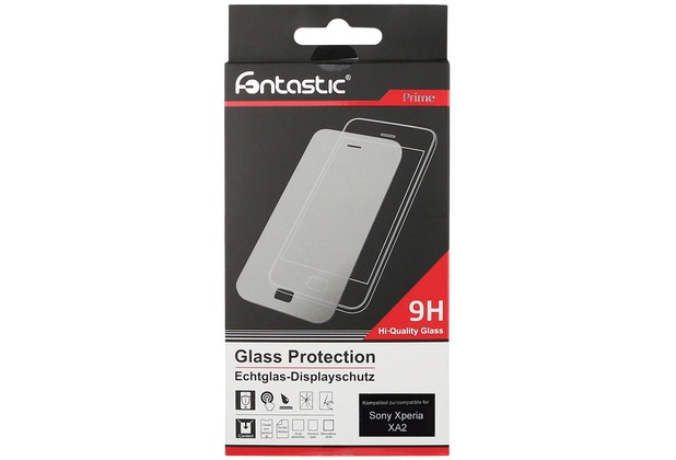 Fontastic Schutzglas 1 Stück komp. mit Sony Xperia XA2